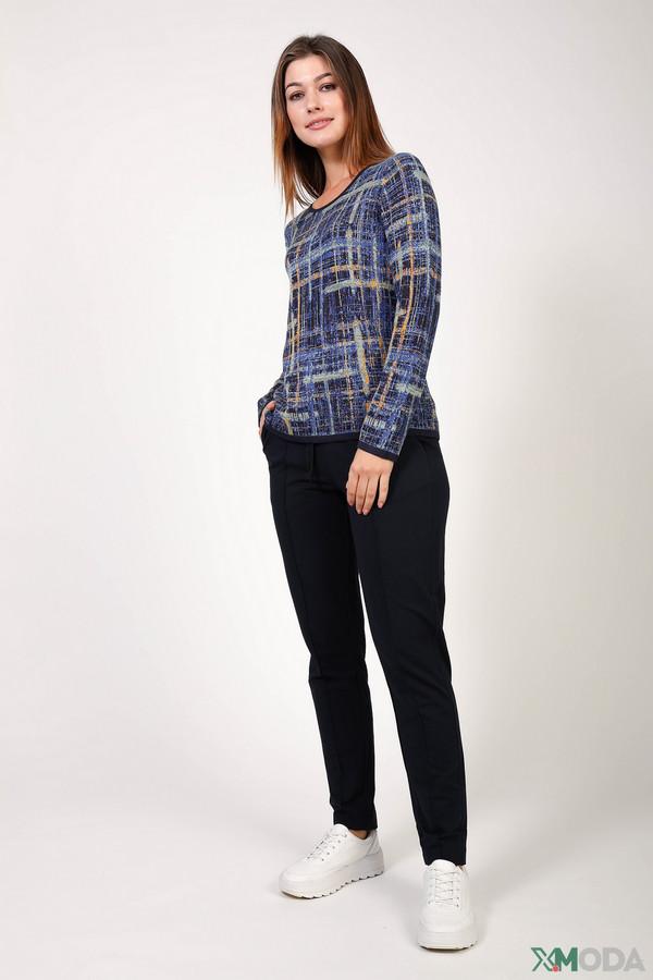 женские брюки margittes, синие
