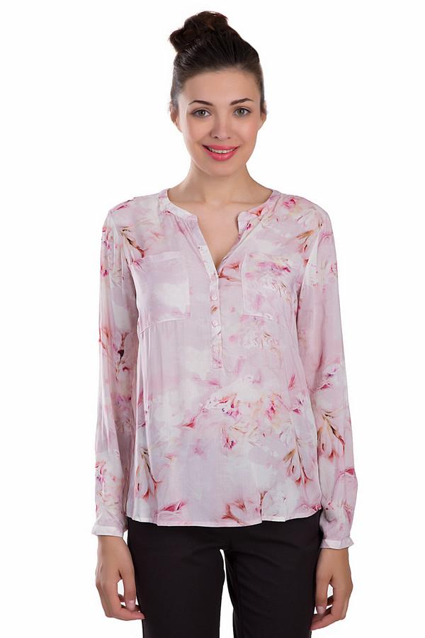 Блузa Tom TailorБлузы<br>Красивая женская блуза Tom Tailor розового цвета. Это изделие было выполнено из вискозы. Данная модель предназначена для летнего сезона. Дополнена карманами на груди и разноцветным цветочным рисунком. Застегивается с помощью маленьких белых пуговиц. Эта блуза свободного кроя. Сочетается с разной одеждой.<br><br>Размер RU: 46<br>Пол: Женский<br>Возраст: Взрослый<br>Материал: вискоза 100%<br>Цвет: Розовый