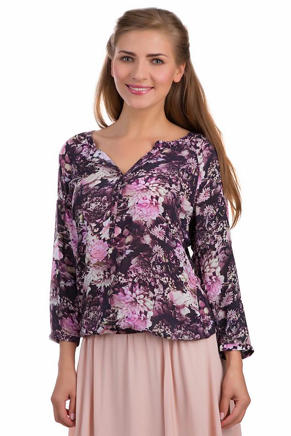 Блузa Tom TailorБлузы<br>Утонченная и женственная блуза Apanage бордового, белого и розового цветов. Это изделие было выполнено из вискозы. Данная модель является демисезонной. Она дополнена разноцветным цветочным рисунком и резинкой внизу. У изделия не глубокий вырез полукругом. Эту блузу можно сочетать с разными цветами и стилями.<br><br>Размер RU: 40<br>Пол: Женский<br>Возраст: Взрослый<br>Материал: вискоза 100%<br>Цвет: Разноцветный