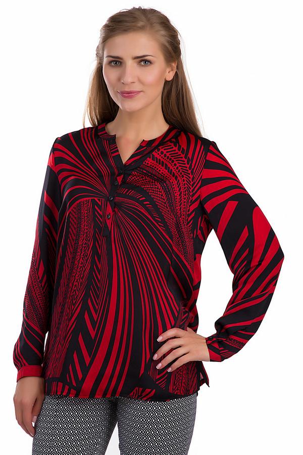 Блузa LebekБлузы<br>Яркая женская блуза Lebek черного и красного цветов. Это изделие было выполнено из полиэстера. Данная модель является демисезонной. Дополнена интересным рисунком. Застегивается с помощью маленьких черных пуговиц. Блуза свободного кроя. Ее можно сочетать с разными цветами и стилями. Хорошо будет смотреться с брюками и юбками.<br><br>Размер RU: 52<br>Пол: Женский<br>Возраст: Взрослый<br>Материал: полиэстер 100%<br>Цвет: Красный