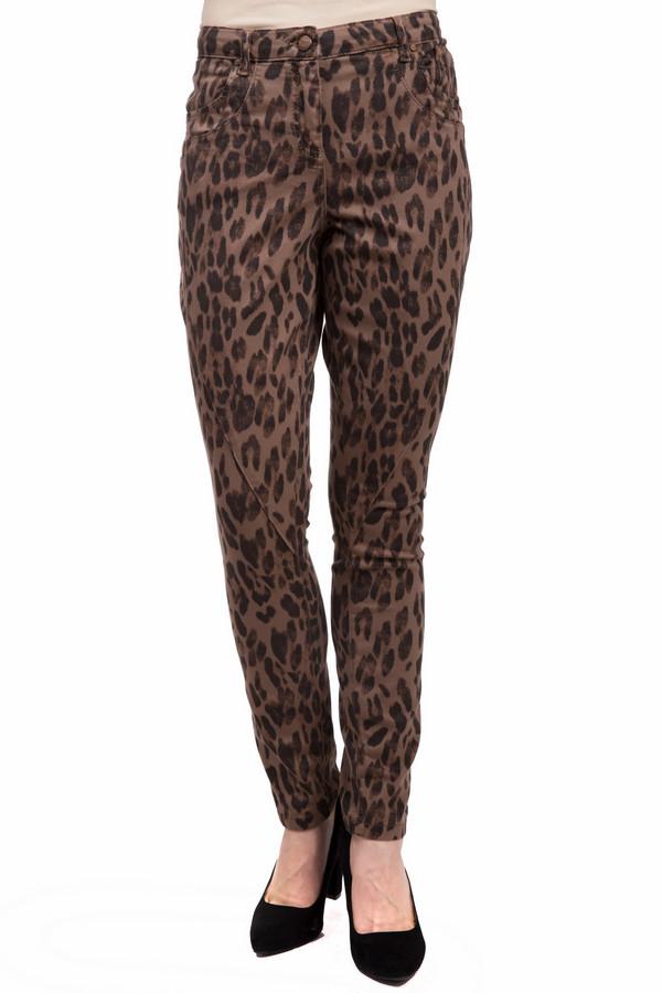 Джинсы Marc AurelДжинсы<br>Яркие женские джинсы от бренда Marc Aurel коричневого и чёрного цветов. Это изделие было изготовлено из хлопка и эластана. Данную модель можно носить круглый год. Дополнены леопардовым изображением, шлевками, застежкой, карманами по бокам и сзади. Джинсы низкой посадки и плотно облегают фигуру. Лучше всего смотрится с однотонной одеждой.<br><br>Размер RU: 40<br>Пол: Женский<br>Возраст: Взрослый<br>Материал: хлопок 98%, эластан 2%<br>Цвет: Чёрный