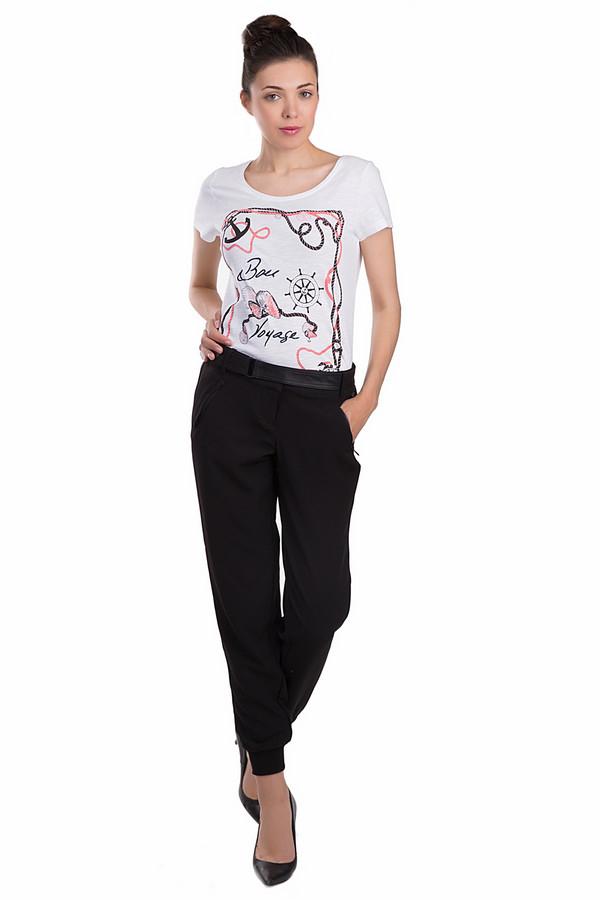 Брюки Tom TailorБрюки<br>Классические женские брюки Tom Tailor черного цвета. Это изделие было выполнено из эластана и полиэстера. Эта модель является демисезонной. Штаны дополнены кожаным ремнем, шлевками для ремня, застежкой на молнии и черной пуговице, задними и боковыми карманами. Брюки средней посадки. Сочетается с одеждой разных цветов.<br><br>Размер RU: 42<br>Пол: Женский<br>Возраст: Взрослый<br>Материал: эластан 4%, полиэстер 96%<br>Цвет: Чёрный