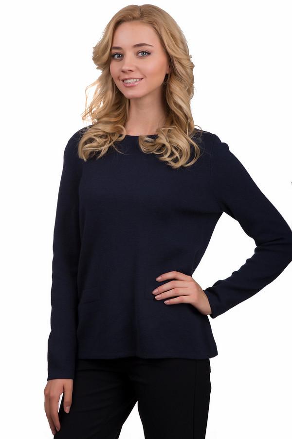 Пуловер Betty BarclayПуловеры<br>Простой женский пуловер Betty Barclay темного синего цвета. Это изделие было выполнено из шерсти и полиакрила. Данная модель предназначена для демисезонного периода. Пуловер свободного кроя, с длинными рукавами. Благодаря своему базовому цвету, такое изделие может быть базой для любого повседневного образа.<br><br>Размер RU: 48<br>Пол: Женский<br>Возраст: Взрослый<br>Материал: шерсть 50%, полиакрил 50%<br>Цвет: Синий