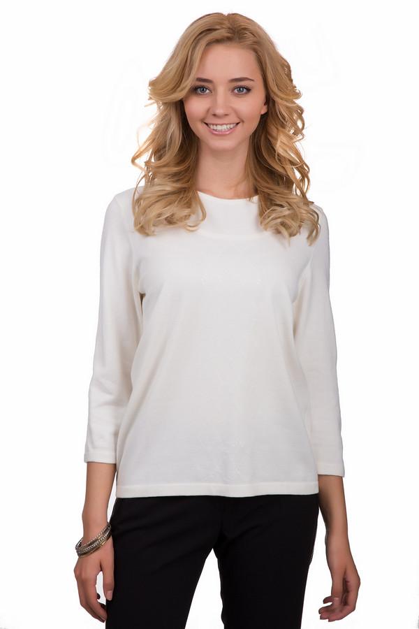 Пуловер Rabe collectionПуловеры<br>Стильный женский пуловер Rabe collection белого цвета. Это изделие было выполнено из полиамида, полиакрила и модала. Данная модель предназначена для демисезонного периода. Пуловер свободного кроя. Дополнен прозрачными элементами по центру и белыми пайетками сверху. Рукава у него укороченные. Отличный вариант на каждый день.<br><br>Размер RU: 52<br>Пол: Женский<br>Возраст: Взрослый<br>Материал: полиамид 15%, полиакрил 40%, модал 45%<br>Цвет: Белый