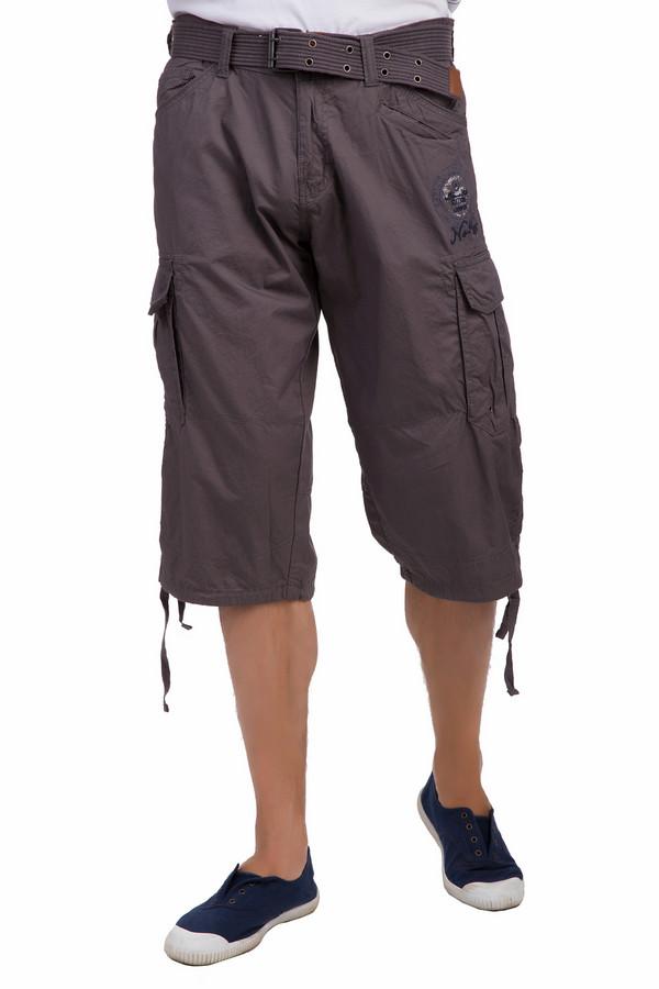 Шорты LerrosШорты<br>Практичные мужские шорты Lerros синего и серого цветов. Они были изготовлены из натурального хлопка. Данная модель является летней. Они дополнены шлевками, застежкой на молнии, боковыми карманами, карманом внизу, белыми надписями и нашивками на штанине. Шорты средней длины. Они удобные. Отлично подходят на каждый день.<br><br>Размер RU: 48(L34)<br>Пол: Мужской<br>Возраст: Взрослый<br>Материал: хлопок 100%<br>Цвет: Коричневый