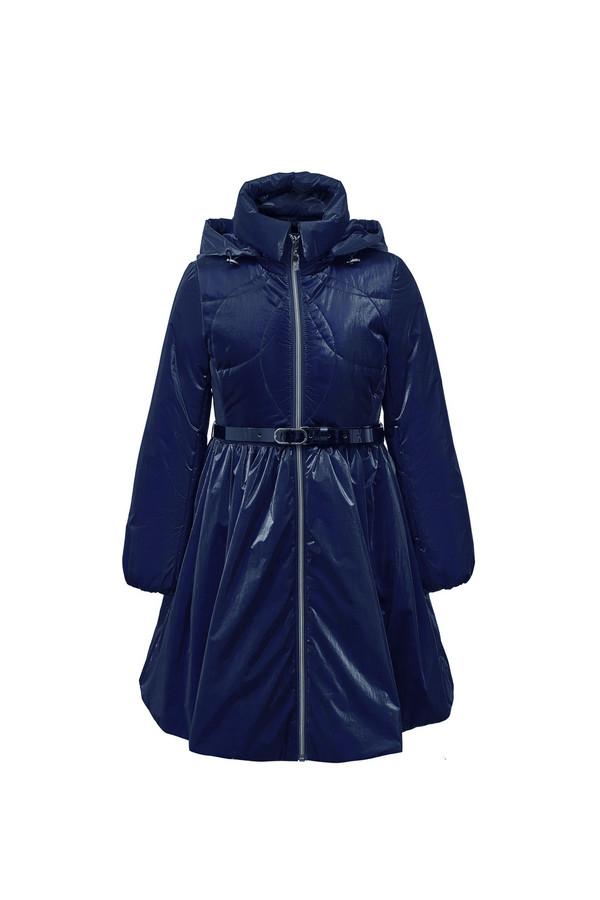 куртка silver spoon для девочки, синяя