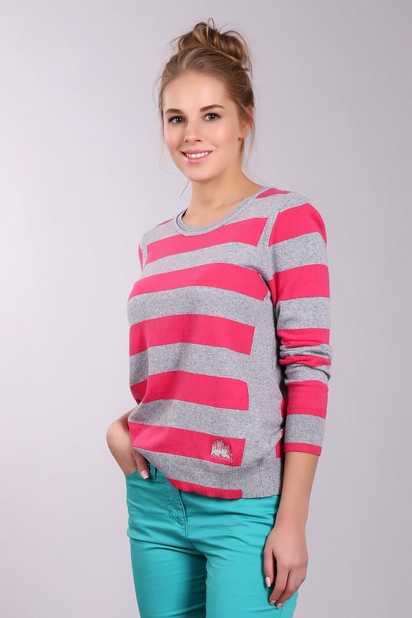 Пуловер Gerry WeberПуловеры<br>Молодежный женский пуловер от бренда Gerry Weber в серо-розовую полоску. Это изделие было изготовлено из хлопка, кашемира, вискозы, полиамида и шерсти. Данная модель является демисезонной. Пуловер свободного кроя и с длинными рукавами. Такая вещь будет ярким акцентом в повседневном образе. Сочетается как с разноцветными, так и с однотонными вещами.<br><br>Размер RU: 42<br>Пол: Женский<br>Возраст: Взрослый<br>Материал: хлопок 30%, кашемир 5%, полиамид 18%, шерсть 10%, вискоза 37%<br>Цвет: Розовый
