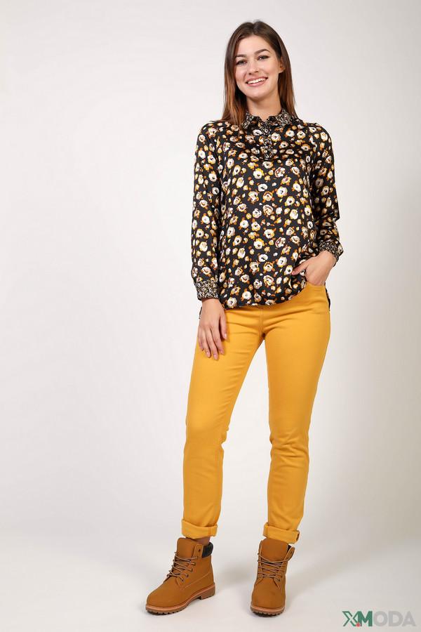 женские брюки steilmann, желтые