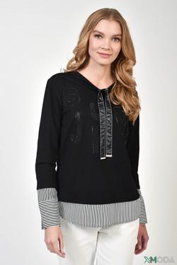 Блузa SE Stenau, цвет чёрный, размер 54RU