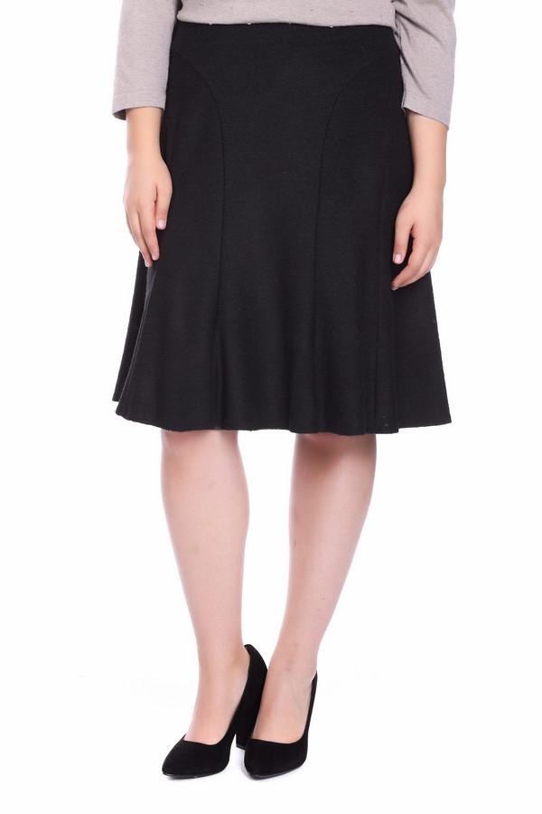 Юбка SteilmannЮбки<br>Строгая женская юбка Steilmann черного цвета. Это изделие было изготовлено из полиэстера, полиакрила и шерсти. Данная модель предназначена для демисезонного периода. Юбка выполнена в форме полу солнца, средней длины. Дополнена небольшими складками внизу. Такое изделие хорошо подойдет для похода на работу.<br><br>Размер RU: 46<br>Пол: Женский<br>Возраст: Взрослый<br>Материал: полиэстер 22%, полиакрил 55%, шерсть 23%<br>Цвет: Чёрный