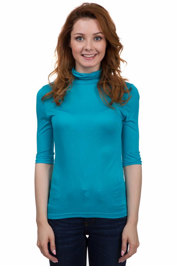 Водолазка PezzoВодолазки<br>Практичная женская водолазка от бренда Pezzo голубого цвета. Это изделие было выполнено из эластана и вискозы. Данная модель предназначена для демисезонного периода. Дополнена воротом. Сидит по фигуре. У водолазки укороченные рукава. Хорошо смотрится с джинсовыми юбками и штанами. Такая модель подойдет на каждый день.<br><br>Размер RU: 50<br>Пол: Женский<br>Возраст: Взрослый<br>Материал: эластан 5%, вискоза 95%<br>Цвет: Голубой