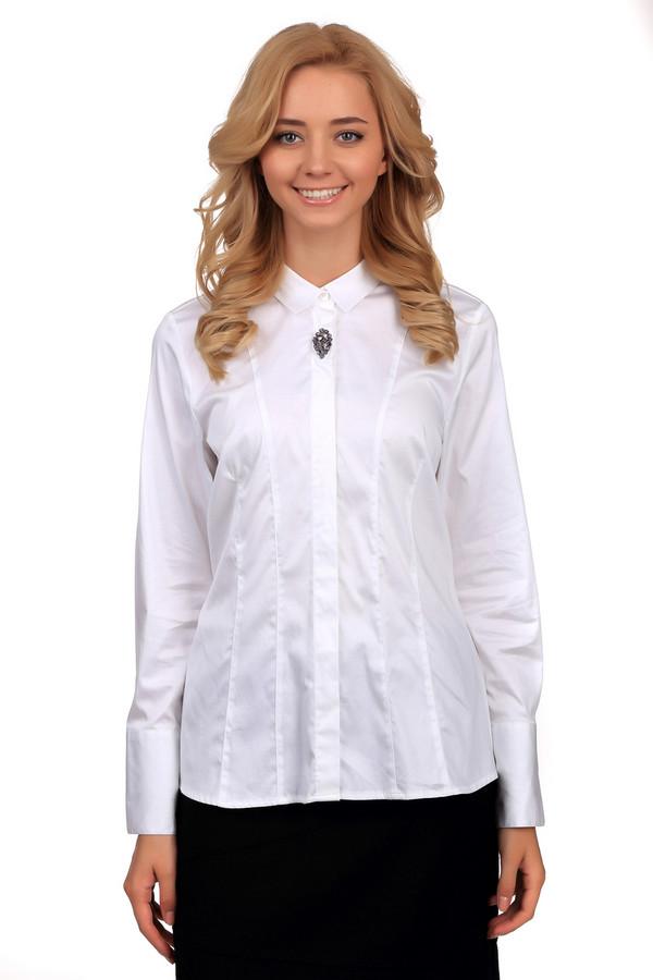 Блузa SE StenauБлузы<br>Нарядная женская блуза SE Stenau белого цвета. Это изделие было изготовлено из эластана и хлопка. Данная модель предназначена для демисезонного периода. Дополнена брошкой и многочисленными строчками. У блузы объемные рукава. Изделие сидит по фигуре. подчеркивает линию талии.<br><br>Размер RU: 52<br>Пол: Женский<br>Возраст: Взрослый<br>Материал: эластан 3%, хлопок 97%<br>Цвет: Белый