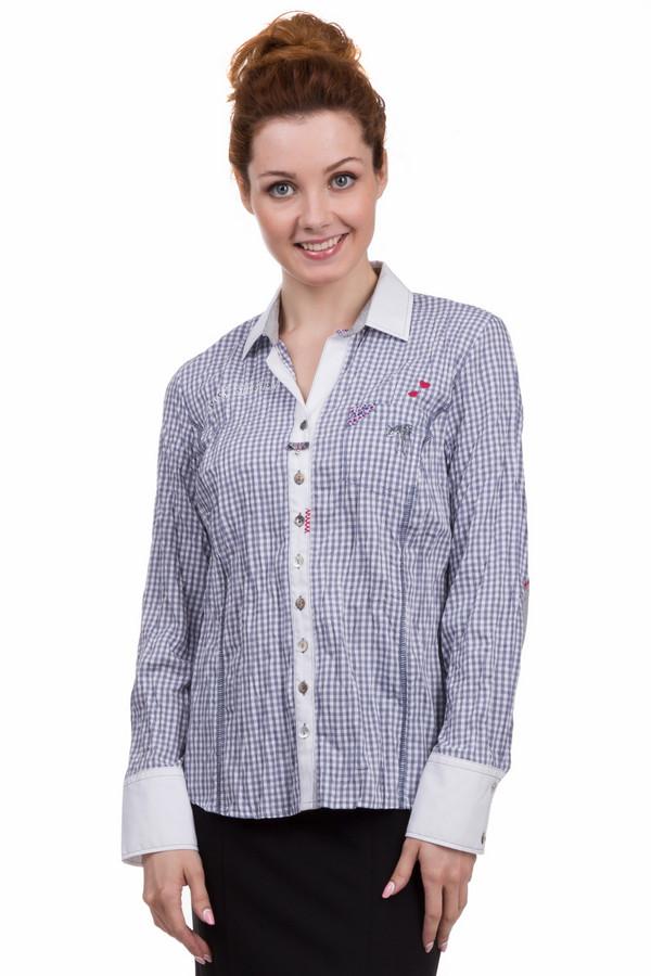 Блузa SE StenauБлузы<br>Оригинальная женская блуза от бренда SE Stenau белого, серого, красного и синего цветов. Эта модель была сделана из хлопка и полиэстера. Данное изделие предназначено для демисезонного периода. Дополнено тканевыми вставками на локтях, яркими маленькими нашивками и манжетами на рукавах. Застегивается с помощью белых маленьких пуговиц.<br><br>Размер RU: 44<br>Пол: Женский<br>Возраст: Взрослый<br>Материал: хлопок 35%, полиэстер 65%<br>Цвет: Разноцветный