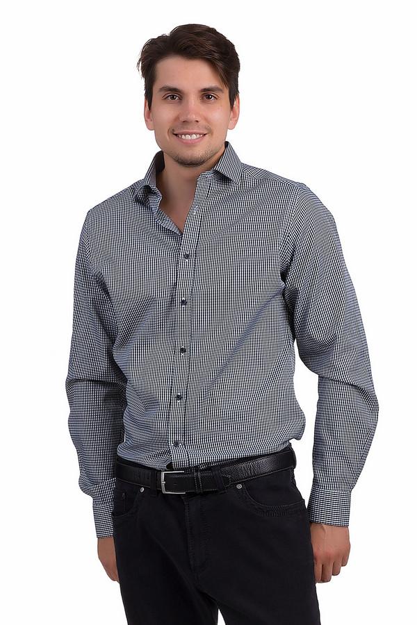 Рубашка с длинным рукавом PezzoДлинный рукав<br>Модная мужская рубашка от бренда Pezzo приталенного кроя выполнена из плотного материала белого цвета в зелено-синюю клетку. Изделие дополнено отложным воротником и длинными рукавами с манжетами на пуговицах. Центральная часть застегивается на планку с пуговицами. Рубашка незаменима в гардеробе мужчины и хорошо будет смотреться как с   джинсами  , так и с   брюками  .<br><br>Размер RU: 40<br>Пол: Мужской<br>Возраст: Взрослый<br>Материал: хлопок 35%, полиэстер 65%<br>Цвет: Разноцветный