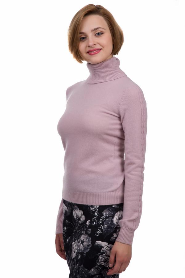 Водолазка Just ValeriВодолазки<br>Кашемировая теплая водолазка от бренда Just Valeri прилегающего кроя выполнена из мягкого трикотажа приятного на ощупь. Водолазка представлена в нежно-розовом цвете. Изделие дополнено высоким воротником-стойка и длинными рукавами. Ворот, манжеты и нижний кант оформлены эластичной трикотажной резинкой. Рукава декорированы объемным вязанным узором.<br><br>Размер RU: 52<br>Пол: Женский<br>Возраст: Взрослый<br>Материал: кашемир 100%<br>Цвет: Розовый