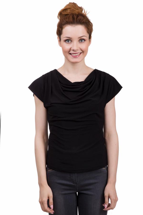 Топ PezzoТопы<br>Потрясающий женский топ от бренда Pezzo прямого кроя выполнено из приятной ткани классического черного цвета. Изделие дополнено воротником-хомут и короткими рукавами-кимоно. Гармонично будет смотреться как с джинсами, так и с юбкой.<br><br>Размер RU: 46<br>Пол: Женский<br>Возраст: Взрослый<br>Материал: полиэстер 95%, спандекс 5%<br>Цвет: Чёрный