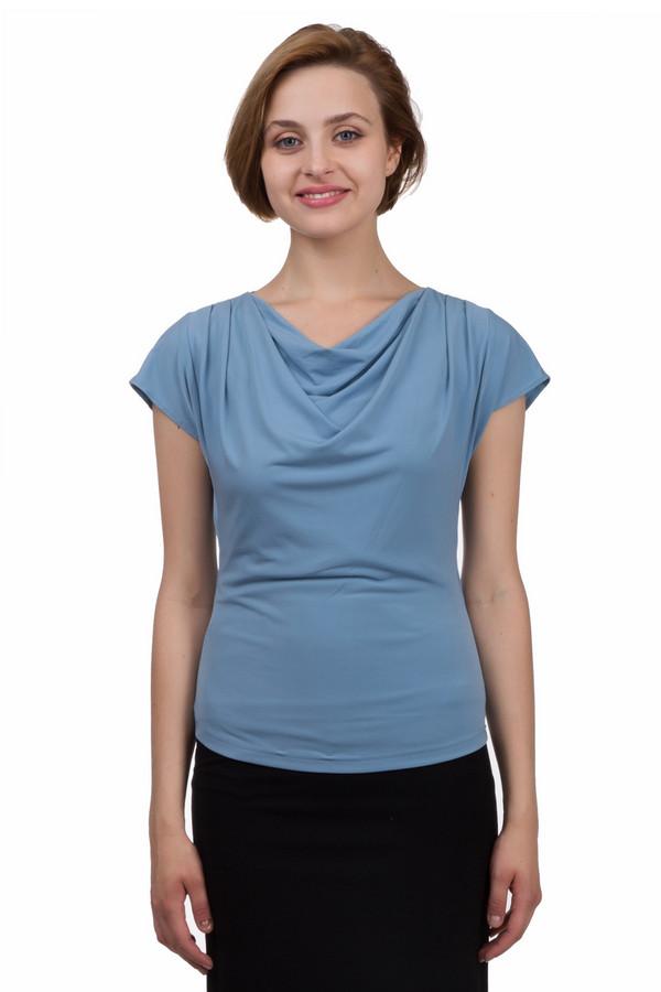 Топ PezzoТопы<br>Потрясающий женский топ от бренда Pezzo прямого кроя выполнено из приятной ткани светло-синего цвета. Изделие дополнено воротником-хомут и короткими рукавами-кимоно. Гармонично будет смотреться как с джинсами, так и с юбкой.<br><br>Размер RU: 48<br>Пол: Женский<br>Возраст: Взрослый<br>Материал: полиэстер 95%, спандекс 5%<br>Цвет: Голубой