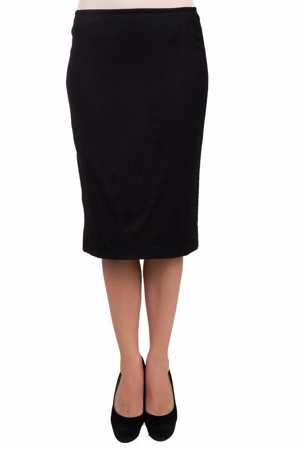Юбка BaslerЮбки<br>Строгая женская юбка Basler черного цвета. Это изделие было выполнено из эластана, вискозы и шерсти. Данная модель предназначена для демисезонного периода. Юбка средней длины. Дополнена застежкой на молнии сзади. Сидит по фигуре. Подчеркивает силуэт фигуры. Хорошо подойдет для похода на работу. Также можно носить в сочетании с лонгсливом или пуловером.<br><br>Размер RU: 50<br>Пол: Женский<br>Возраст: Взрослый<br>Материал: эластан 2%, вискоза 41%, шерсть 57%<br>Цвет: Чёрный