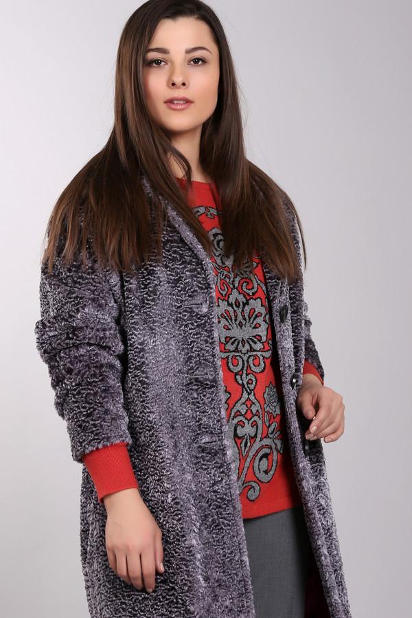 Пальто SteilmannПальто<br>Стильное женское платье от бренда Steilmann серого цвета. Это изделие было изготовлено из вискозы и хлопка. Данная модель предназначена для демисезонного периода. Дополнена объемным воротом и боковыми карманами. Застегивается с помощью крупных пуговиц серого цвета. Стильное и практичное решение для прохладной погоды.<br><br>Размер RU: 42<br>Пол: Женский<br>Возраст: Взрослый<br>Материал: вискоза 65%, хлопок 35%<br>Цвет: Серый