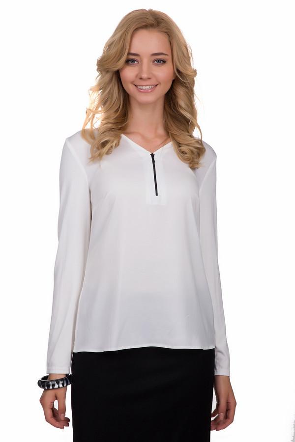 Блузa Gerry WeberБлузы<br>Простая женская блуза Gerry Weber белого цвета. Эта модель была сделана из полиэстера. Данное изделие предназначено для демисезонного периода. Блуза свободного кроя и с длинными рукавами. Дополнена застежкой на молнии спереди. Можно носить с одеждой разного стиля. Со строгими юбками это будет офисный вариант, а с широкими джинсами более расслабленный, но женственный.<br><br>Размер RU: 44<br>Пол: Женский<br>Возраст: Взрослый<br>Материал: полиэстер 100%<br>Цвет: Белый
