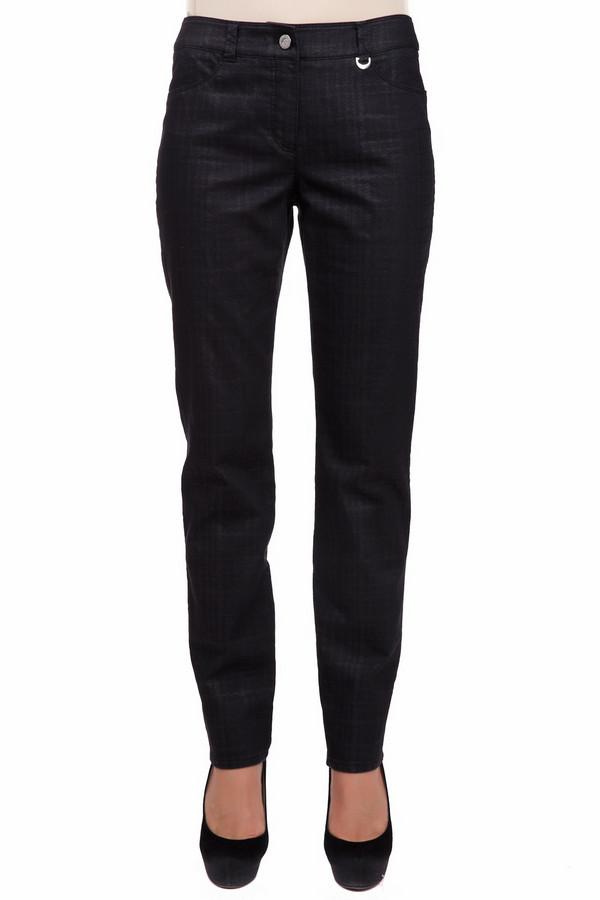Джинсы Gerry WeberДжинсы<br>Классические женские джинсы Gerry Weber черного цвета. Это изделие было изготовлено из эластана, полиэстера и хлопка. Данная модель является демисезонной. Джинсы средней посадки. Дополнены карманами, шлевками для ремня. Застёгиваются с помощью молнии и пуговицы. Сочетается с одеждой разных расцветок. Отличный вариант на каждый день.<br><br>Размер RU: 44<br>Пол: Женский<br>Возраст: Взрослый<br>Материал: эластан 2%, полиэстер 29%, хлопок 69%<br>Цвет: Чёрный