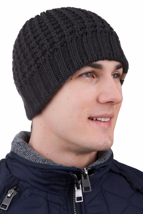 Шапка GottmannШапки<br>Вязаная мужская шапка Gottmann серого цвета. Это изделие изготовлено из шерсти и полиакрила. Наиболее подходящее для носки время - зима. Модель украшена красивым вязаным узором. Эта шапка согреет в зимние морозы, будет отлично сочетаться с верхней одеждой темных оттенков.<br><br>Размер RU: один размер<br>Пол: Мужской<br>Возраст: Взрослый<br>Материал: шерсть 50%, полиакрил 50%<br>Цвет: Чёрный