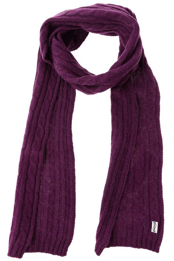 Шарф PezzoШарфы<br>Яркий женский шарф от бренда Pezzo фиолетового цвета. Данное изделие было изготовлено из шерсти, нейлона и ангоры. Эта модель предназначена для зимнего сезона. Аксессуар универсальный. Дополнен крупной вязкой косичкой. Можно носить с одеждой разных расцветок. Станет ярким акцентом повседневного образа.<br><br>Размер RU: один размер<br>Пол: Женский<br>Возраст: Взрослый<br>Материал: шерсть 70%, нейлон 10%, ангора 20%<br>Цвет: Фиолетовый