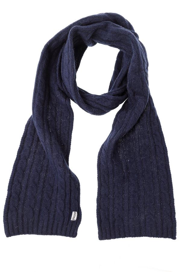 Шарф PezzoШарфы<br>Практичный женский шарф от бренда Pezzo темного синего цвета. Эта модель была сделана из шерсти, нейлона и ангоры. Изделие предназначено для зимнего сезона. Аксессуар универсальный. Дополнен крупной вязкой косичкой. Можно носить с одеждой разных расцветок и стилей. Лучше всего сочетается с головным убором и перчатками в тон. Идеальный вариант на каждый день.<br><br>Размер RU: один размер<br>Пол: Женский<br>Возраст: Взрослый<br>Материал: шерсть 70%, нейлон 10%, ангора 20%<br>Цвет: Синий