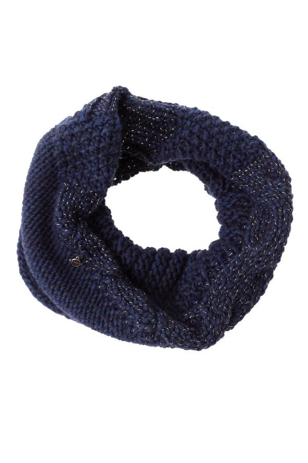 Шарф SeebergerШарфы<br>Модный женский шарф Seeberger синего цвета с серебристыми элементами. Это изделие было выполнено из полиэстера, альпака, полиакрила, шерсти и вискозы. Данная модель предназначена для холодной зимней погоды. Аксессуар выполнено в форме хомута. Дополнен серебристыми вставками. Удобный и стильный вариант для прохладной погоды.<br><br>Размер RU: один размер<br>Пол: Женский<br>Возраст: Взрослый<br>Материал: полиэстер 2%, шерсть 15%, вискоза 10%, альпака 15%, полиакрил 58%<br>Цвет: Разноцветный
