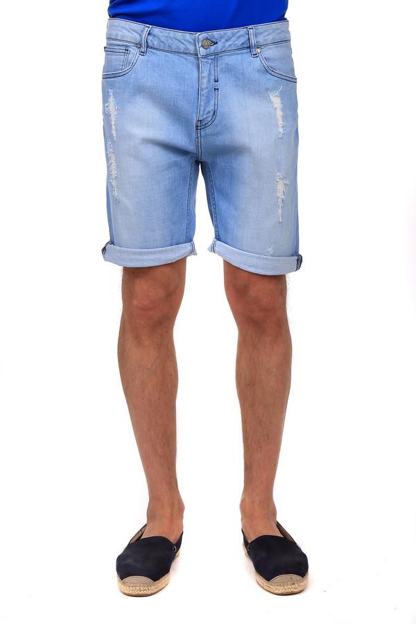 Шорты Eleven ParisШорты<br>Удобные мужские шорты Eleven Paris светлого голубого цвета. Это изделие было выполнено из полиэстера, эластана и хлопка. Данная модель предназначена для летнего сезона. Дополнены застежкой на молнии и пуговицы, боковыми и задними карманами, шлевками. Такие шорты подойдут на каждый день.<br><br>Размер RU: 46-48<br>Пол: Мужской<br>Возраст: Взрослый<br>Материал: полиэстер 7%, эластан 2%, хлопок 91%<br>Цвет: Голубой