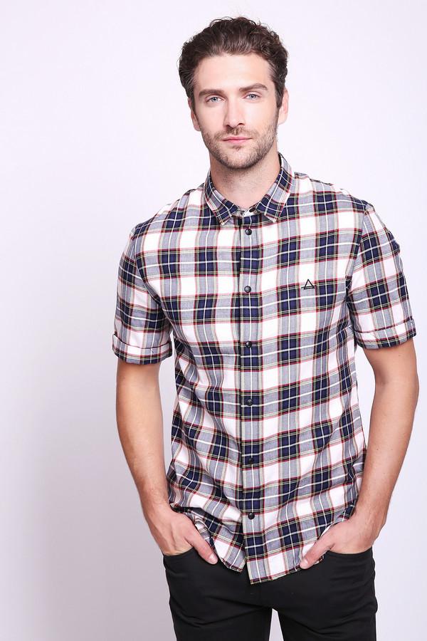 мужская рубашка с коротким рукавом eleven paris, разноцветная