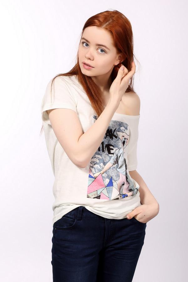 женская футболка с длинным рукавом eleven paris, разноцветная
