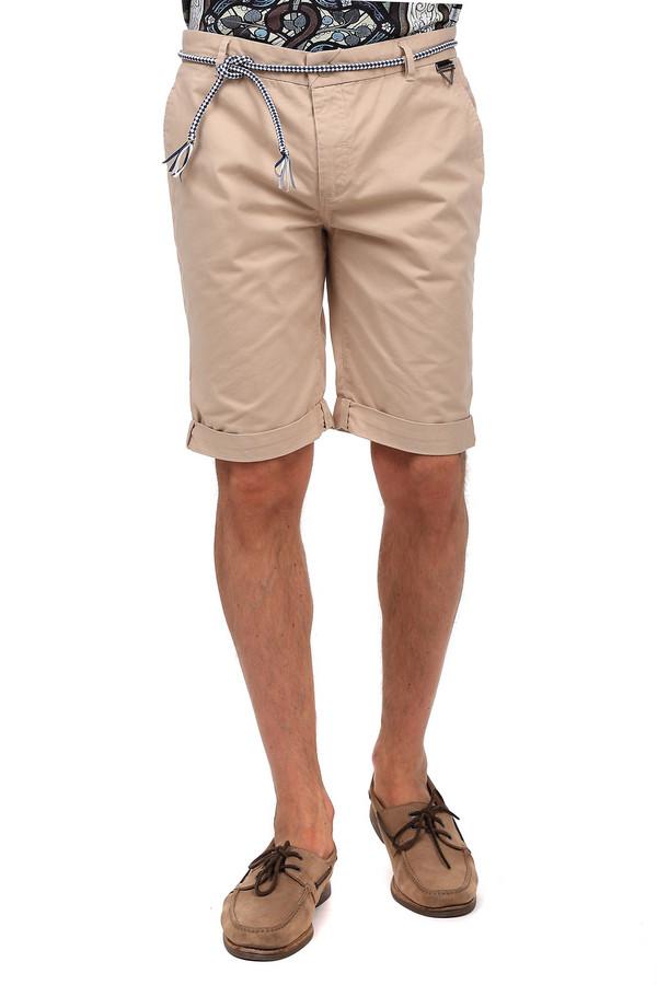 Шорты Eleven ParisШорты<br>Практичные мужские шорты Eleven Paris бежевого цвета. Это изделие было изготовлено из натурального хлопка. Данная модель предназначена для летнего сезона. Шорты дополнены шлевками, шнурком вместо ремня, боковыми и задними карманами, застежкой на молнии и пуговице. брюки средней длины. Хорошо подойдут для того, чтобы носить пляж.<br><br>Размер RU: 46-48<br>Пол: Мужской<br>Возраст: Взрослый<br>Материал: хлопок 100%<br>Цвет: Бежевый