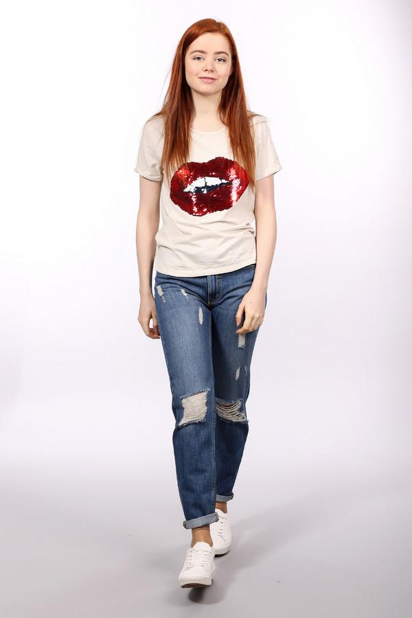 Модные джинсы Eleven ParisМодные джинсы<br>Оригинальные женские джинсы от бренда Eleven Paris темного синего цвета. Это изделие было выполнено из хлопка. Данную модель можно носить круглый год. Дополнена шлевками, карманами по бокам и застежкой и рванными элементами. Джинсы низкой посадки. Сидят по фигуре. Хорошо будут сочетаться с любой одеждой. Скучный образ с такими брюками будет смотреться ярко.<br><br>Размер RU: 42-44<br>Пол: Женский<br>Возраст: Взрослый<br>Материал: хлопок 100%<br>Цвет: Синий