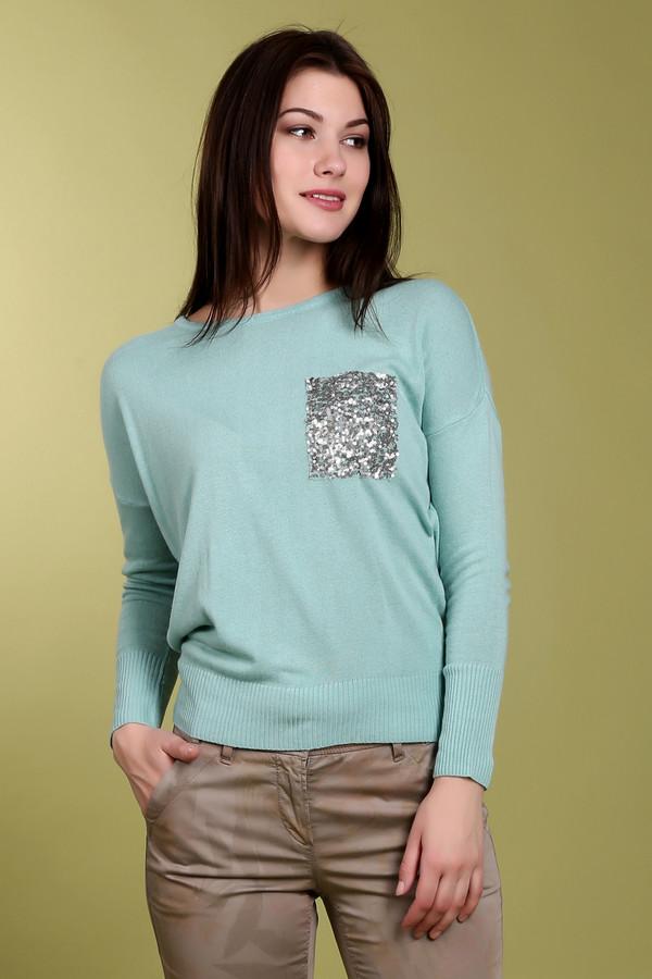 Пуловер из пряжи с паетками с доставкой