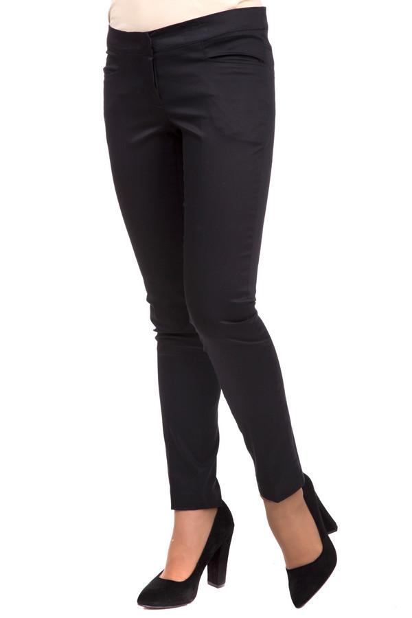 Брюки Sai-KuБрюки<br>Строгие женские брюки от бренда Sai-Ku черного цвета. Это изделие было выполнено из эластана и хлопка. Данная модель предназначена для демисезонного периода. Дополнена шлевками, карманами. Брюки низкой посадки и облегающие. Прекрасно сочетаются с одеждой разных стилей, расцветок и фактур. Оптимальный вариант на каждый день.<br><br>Размер RU: 48<br>Пол: Женский<br>Возраст: Взрослый<br>Материал: эластан 3%, хлопок 97%<br>Цвет: Чёрный