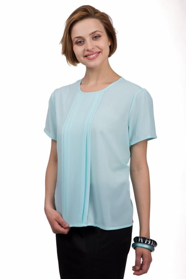 Блузa Sai-KuБлузы<br>Яркая женская блуза Sai-Ku голубого цвета. Это изделие было выполнено из полиэстера. Данная модель предназначена для летнего сезона. Дополнена складками посередине. Блуза свободного кроя и с короткими рукавами. Такая вещь точно будет ярким акцентом в любом образе. Сочетается как с юбками, так и с брюками.<br><br>Размер RU: 46<br>Пол: Женский<br>Возраст: Взрослый<br>Материал: полиэстер 100%<br>Цвет: Голубой