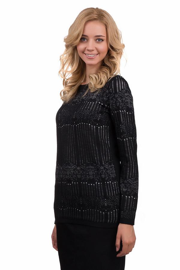 Пуловер Betty BarclayПуловеры<br>Красивый женский пуловер Betty Barclay черного цвета. Это изделие выполнено из полиамида, полиэстера, полиакрила и шерсти. Данная модель предназначена для демисезонного периода. Пуловер свободного кроя и с длинными рукавами. Дополнен вышитыми вставками. Сочетается с брюками и юбками. Отлично дополняет любой образ, делая его более праздничным.<br><br>Размер RU: 50<br>Пол: Женский<br>Возраст: Взрослый<br>Материал: полиамид 20%, полиэстер 54%, полиакрил 20%, шерсть 6%<br>Цвет: Чёрный