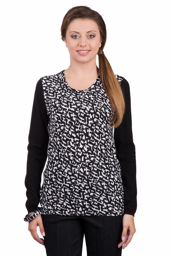 Пуловер Betty BarclayПуловеры<br>Стильный женский пуловер Betty Barclay черного цвета с белыми элементами. Это изделие было выполнено из натурального хлопка. Данная модель предназначена для демисезонного периода. Пуловер свободного кроя и с длинными рукавами. Дополнен черно-белым рисунком. Сочетается с одеждой разных стилей и расцветок.<br><br>Размер RU: 46<br>Пол: Женский<br>Возраст: Взрослый<br>Материал: хлопок 100%<br>Цвет: Белый