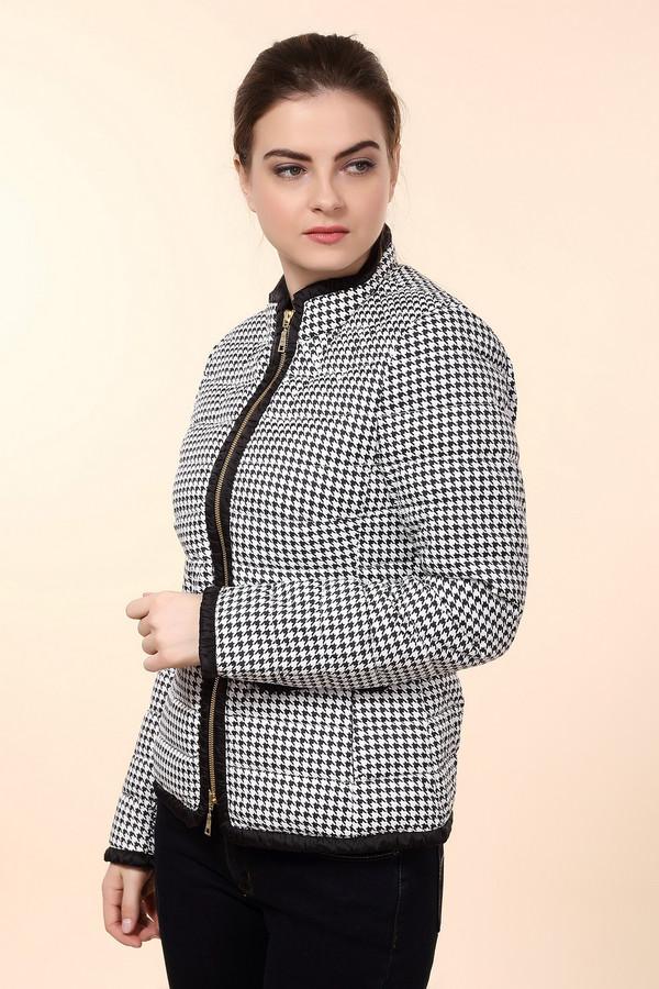 Куртка BaslerКуртки<br>Практичная женская куртка Basler черного и белого цветов. Это изделие было выполнено из полиамида. Данная модель является демисезонной. Дополнена карманами по бокам. Застегивается с помощью золотистой молнии. Такая куртка отлично сочетается с одеждой разных цветов и стилей. Стильное и практичное решение на каждый день.<br><br>Размер RU: 42<br>Пол: Женский<br>Возраст: Взрослый<br>Материал: полиамид 100%<br>Цвет: Чёрный
