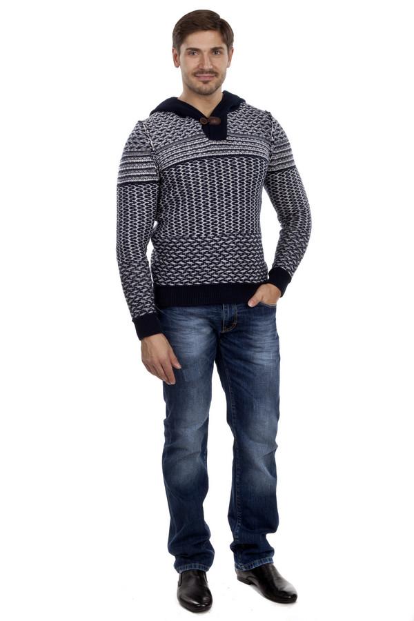 Модные джинсы LocustМодные джинсы<br>Мужские темно-синие джинсы бренда Locust прямого кроя. Изделие дополнено: шлевками и пятью стандартными карманами. Центральная часть изделия застегивается на молнию и фиксируется на пуговицу. Джинсы оформлены декоративными потертостями и разводами.<br><br>Размер RU: 48(L34)<br>Пол: Мужской<br>Возраст: Взрослый<br>Материал: хлопок 100%<br>Цвет: Синий