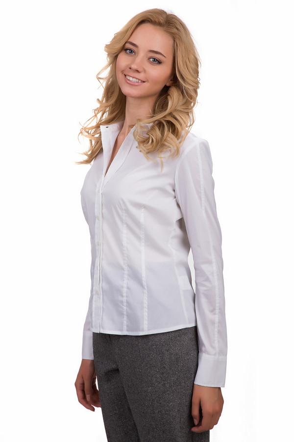 Блузa PezzoБлузы<br>Классическая женская блуза Pezzo белого цвета. Это изделие было выполнено из хлопка, спандекса и нейлона. Данная модель предназначена для демисезонного периода. Блуза сидит по фигуре. Дополнена строками на спине. Застегивается с помощью маленьких белых пуговиц. Отличный вариант для похода на работу. В сочетании с яркими аксессуарами становиться более нарядной.<br><br>Размер RU: 52<br>Пол: Женский<br>Возраст: Взрослый<br>Материал: хлопок 78%, спандекс 3%, нейлон 19%<br>Цвет: Белый