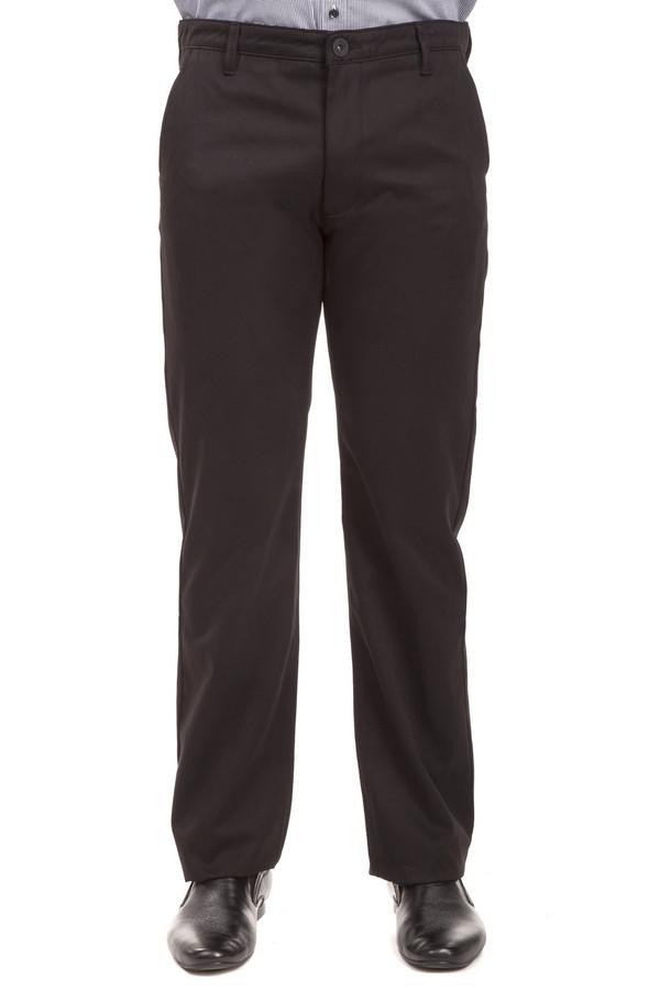 Брюки Flavio NavaБрюки<br>Модные черные брюки от бренда Flavio Nava прямого кроя выполнены из натурального дышащего хлопка. Изделие дополнено: поясом с шлевками для ремня, двумя боковыми карманами и двумя прорезными карманами на пуговицах. Центральная часть застегивается на молнию и фиксируется на пуговицу.<br><br>Размер RU: 56(L34)<br>Пол: Мужской<br>Возраст: Взрослый<br>Материал: хлопок 100%<br>Цвет: Чёрный