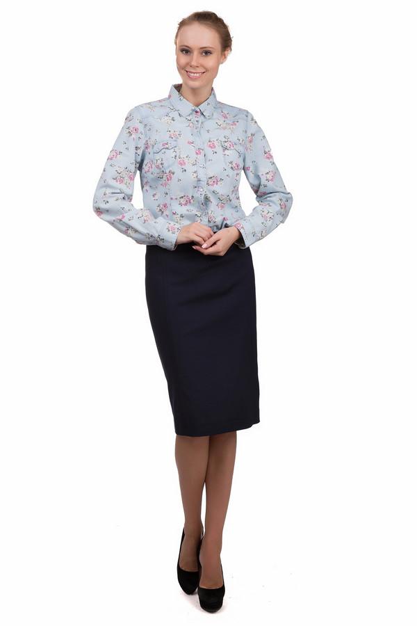 Юбка GardeurЮбки<br>Простая женская юбка Gardeur темно-синего цвета. Это изделие было изготовлено из эластана, полиэстера и хлопка. Данная модель предназначена для демисезонного периода. Юбка средней длины. Застегивается сзади на молнию и дополнена шлицем. Отличный вариант для офиса. Можно сочетать со строгими блузами или рубашками.<br><br>Размер RU: 46<br>Пол: Женский<br>Возраст: Взрослый<br>Материал: эластан 3%, полиэстер 46%, хлопок 51%<br>Цвет: Синий