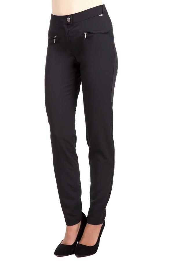 Брюки SteilmannБрюки<br>Модные женские брюки Steilmann классического черного цвета. Это изделие было выполнено из полиэстера и эластана. Данная модель предназначена для демисезонного периода. Брюки средней посадки. Дополнены шлевками для ремня и боковыми карманами. Хорошо сочетается с одеждой свободного кроя.<br><br>Размер RU: 42<br>Пол: Женский<br>Возраст: Взрослый<br>Материал: эластан 6%, полиэстер 94%<br>Цвет: Чёрный