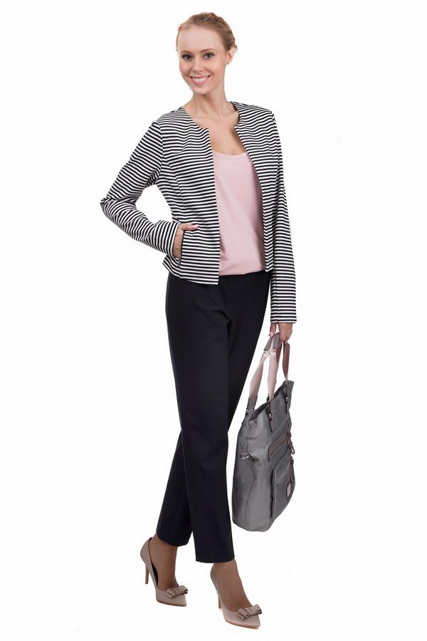 Брюки MicheleБрюки<br>Простые женские брюки Michele черного цвета. Эта модель была сделана из эластана, полиэстера и вискозы. Данное изделие предназначено для летнего сезона. Брюки свободного кроя. Дополнены карманами и шлевками. Сочетаются с одеждой разных стилей и расцветок.<br><br>Размер RU: 46<br>Пол: Женский<br>Возраст: Взрослый<br>Материал: эластан 4%, полиэстер 48%, вискоза 48%<br>Цвет: Синий