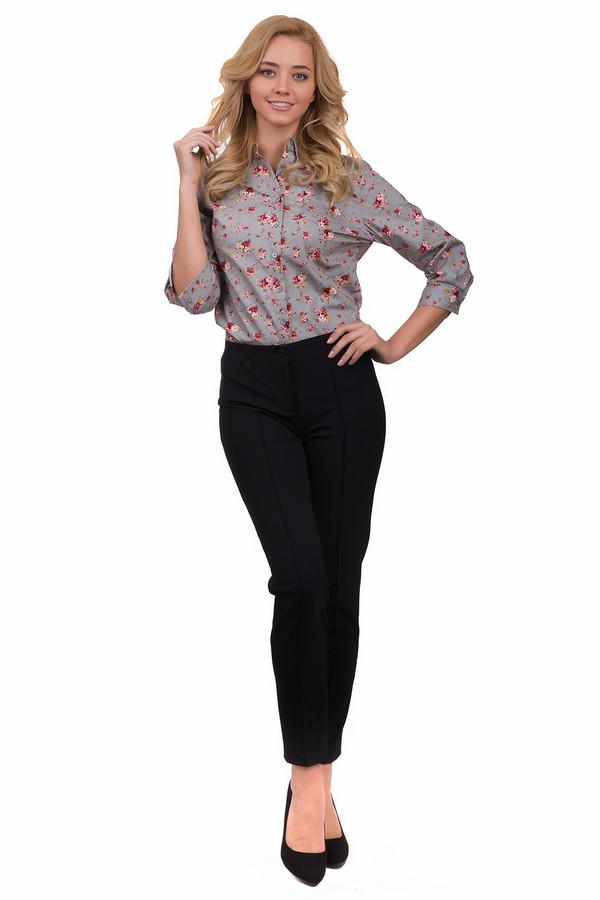 Брюки CambioБрюки<br>Стильные женские брюки Cambio черного цвета. Это изделие было выполнено из эластана и полиамида. Данная модель предназначена для демисезонного периода. Брюки средней посадки. Сидят по фигуре. Застегиваются на молнию и пуговицу. Дополнены задними карманами. Носить можно с одеждой разных стилей и расцветок.<br><br>Размер RU: 44<br>Пол: Женский<br>Возраст: Взрослый<br>Материал: эластан 8%, полиамид 92%<br>Цвет: Чёрный