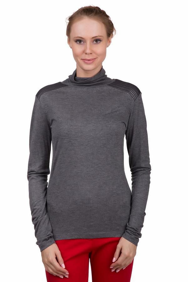 Водолазка Just ValeriВодолазки<br>Стильная женская водолазка Just Valeri серого цвета. Это изделие было изготовлено из вискозы. Данная модель предназначена для периода межсезонья. Водолазка облегает фигуру. На плечах украшена вязаной вставкой. Хорошо будет смотреться с классическими брюками, темными джинсами и широкими юбками средней длины.<br><br>Размер RU: 46<br>Пол: Женский<br>Возраст: Взрослый<br>Материал: вискоза 100%<br>Цвет: Серый