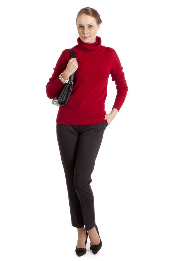 Брюки Sai-KuБрюки<br>Элегантные женские брюки-дудочки от бренда Sai-Ku черного цвета. Это брюки со стрелками с высокой талией длиной до щиколотки. Изделие дополнено: шлевками для ремня, двумя боковыми карманами, двумя прорезными карманами сзади и застежкой-молния с пуговицей. Классические брюки, которые никогда не выйдут из моды. Сочетается с рубашками и легкими блузами. Это незаменимый элемент офисного гардероба.<br><br>Размер RU: 42<br>Пол: Женский<br>Возраст: Взрослый<br>Материал: эластан 3%, вискоза 15%, полиэстер 82%<br>Цвет: Чёрный