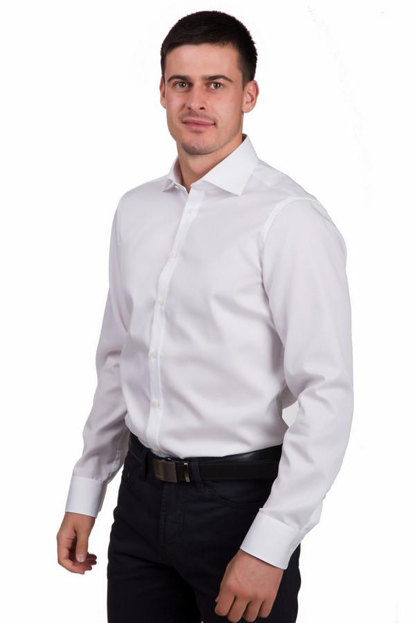 Рубашка с длинным рукавом VentiДлинный рукав<br>Классическая мужская рубашка Venti белого цвета. Эта модель была изготовлена из натурального хлопка. Данная модель предназначена для периода межсезонья. Рубашка не облегает фигуру. Дополнена манжетами на рукавах. Застёгиваются на мелкие белые пуговички. Хорошее решение для похода на работу или деловые встречи. Универсальный вариант на каждый день.<br><br>Размер RU: 45<br>Пол: Мужской<br>Возраст: Взрослый<br>Материал: хлопок 100%<br>Цвет: Белый